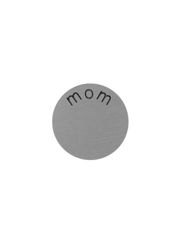 'Mom' Mini Silver Coin