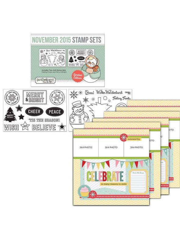 Make and Take Celebrate Kit November Stamp Bundle